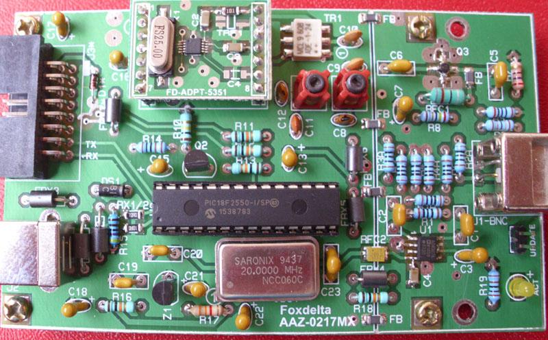 Foxdelta 1 To 60mhz Antenna Analyzer Using Si5351  Aaz