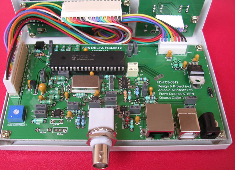 Frequency Counter Projects : Fc pic f  mhz frequency counter rf power