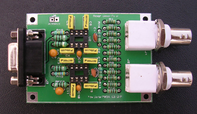 PM3A::Dual Channel PIC16F876A 500MHZ LCD RF Power Meter With