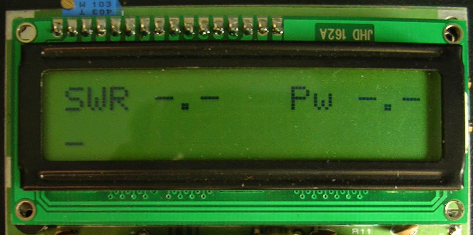 Hf Vhf Lcd Pic16f88 Swr Bridge Radio Frequency Circuit Nextgr