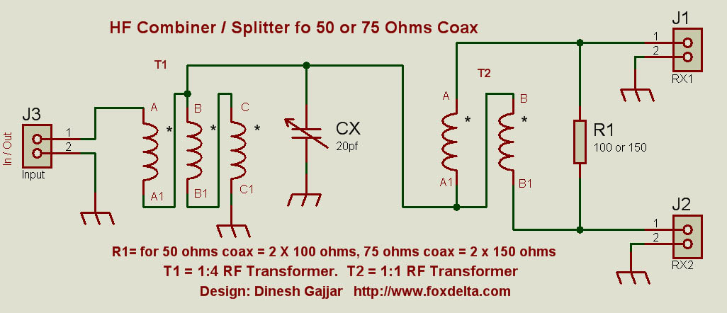 coax combiner splitter wiring diagram repair machine Contactor Wiring Diagram