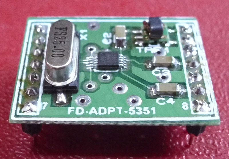 Foxdelta Si5351 10khz To 500mhz Signal Generator Module For Antenna Analyser  Receiver  By Tony
