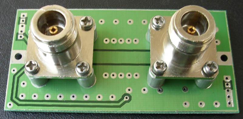 HF/VHF LCD PIC16F88 SWR Bridge